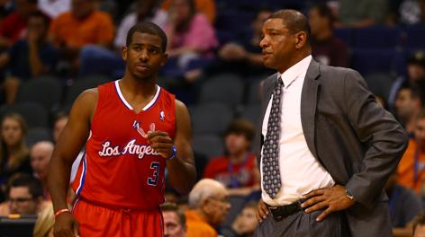 Chris Paul con Doc Rivers. Usa Today Sports