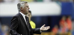 Carlo Ancelotti, allenatore del Real Madrid. Ap