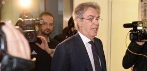 Massimo Moratti, presidente dell'Inter. Ansa