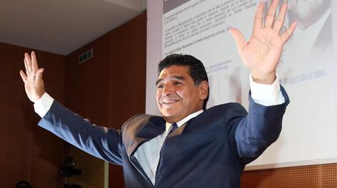 Diego Armando Maradona, 52 anni, in Gazzetta. Ansa