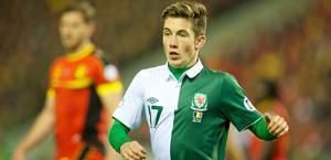 Harry Wilson � il giocatore della nazionale gallese pi� giovane di tutti i tempi