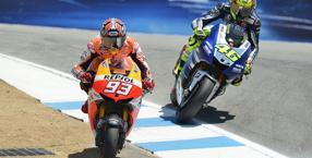 Marquez passa Rossi, raddrizzando il Cavatappi. Milagro
