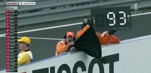 La squalifica di Marquez per irregolare flag to flag in Australia. Ansa