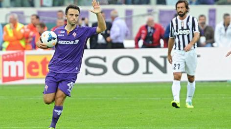Pepito Rossi, tripletta alla Juve. Ansa