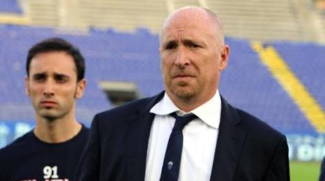 Rolando Maran, 50 anni, turbato dopo la sconfitta di Cagliari. LaPresse
