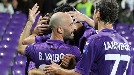 La Fiorentina ha vinto la sua terza partita in Europa League. Ansa