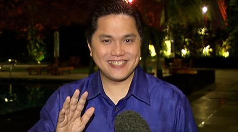 Erick Thohir è nato il 30 maggio 1970. Ansa