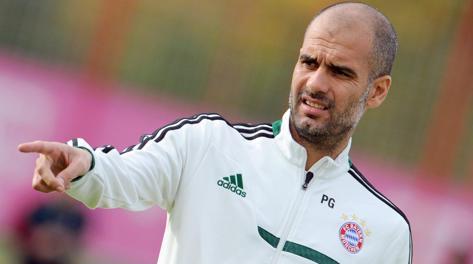 Pep Guardiola, allenatore del Bayern Monaco. Epa