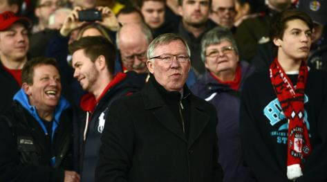 Alex Ferguson, 71 anni. Afp