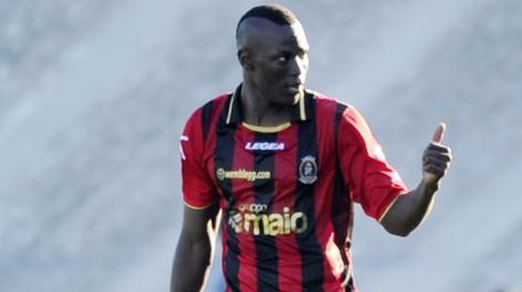 Thiam, autore del gol partita del Lanciano. LaPresse