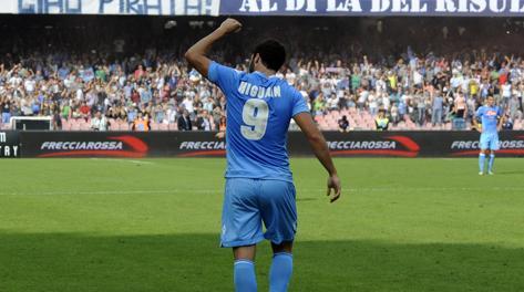 Gonzalo Higuain: ha realizzato 5 gol in campionato. Ap