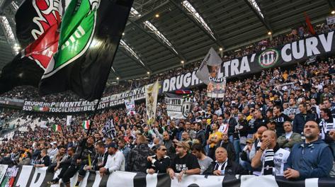 Un'immagine dallo Juventus Stadium. Ansa