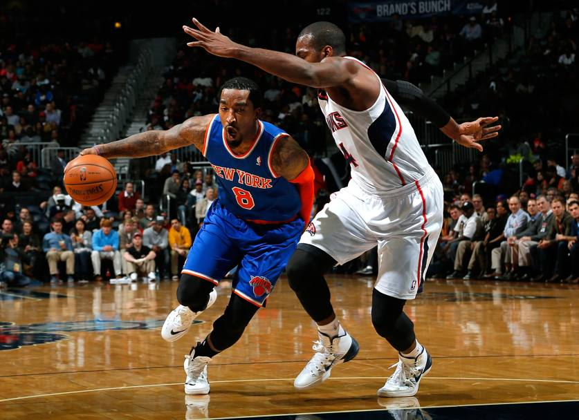 JR Smith, sesto uomo dei Knicks, � partito in sordina ma crescer� Afp
