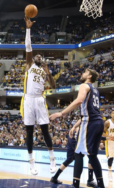 Roy Hibbert, la difesa dei Pacers � lui. Usa Today