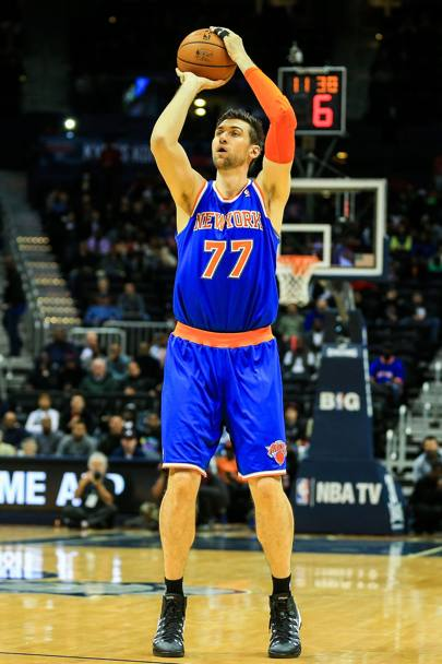 "Andrea Bargnani, il ""Mago"" si sta rilanciando a New York con 13.7 punti di media. Usa Today"