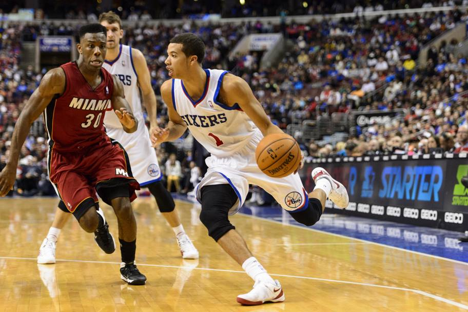 Michael Carter-Williams, il rookie dei Sixers sta stupendo tutti. 17.4 punti e 7.6 assist le sue cifre Usa Today