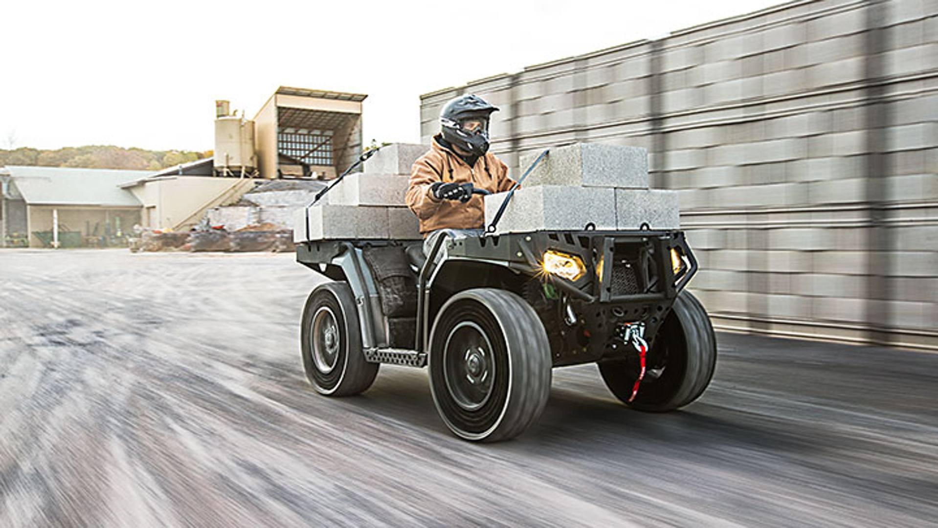 foto quad asfalto: