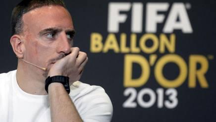 Franck Ribery, centrocampista del Bayern Monaco. LaPresse