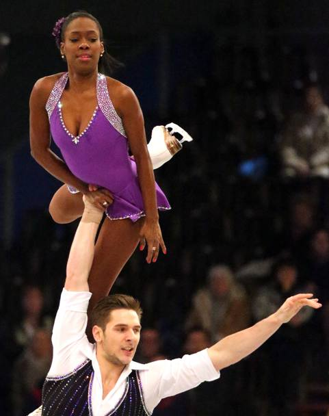 I francesi Vanessa James e Morgan Cipres (AFP)