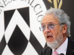 Gianpaolo Pozzo, 72 anni, presidente dell'Udinese. Ansa