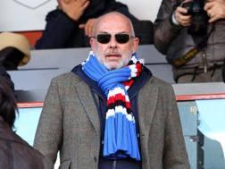 Edoardo Garrone, presidente della Sampdoria. LaPresse