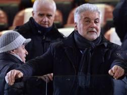 Il presidente del Bologna Albano Guaraldi. LaPresse