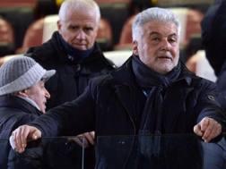 Il presidente del Bologna Albano Guaraldo. Lapresse