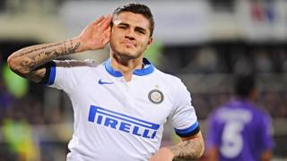 Mauro Icardi, 21 ani, prima stagione all'Inter. Ansa