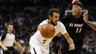 Marco Belinelli, 27 anni, e Chris Andersen, 35. Usa Today