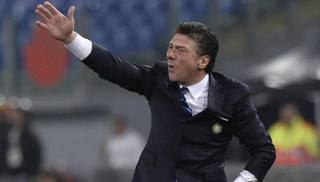 Walter Mazzarri, prima stagione all'Inter. LaPresse