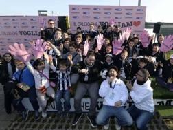 Giovanissimi tifosi dell'Udinese al Friuli per
