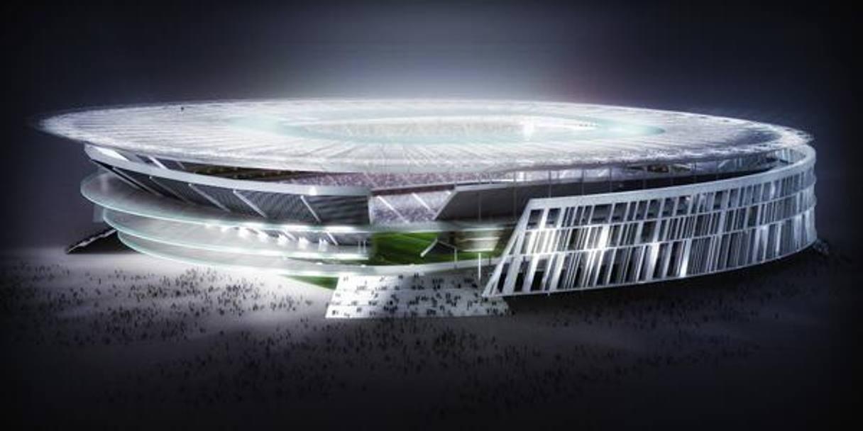 Рома представила проект нового стадиона - изображение 2