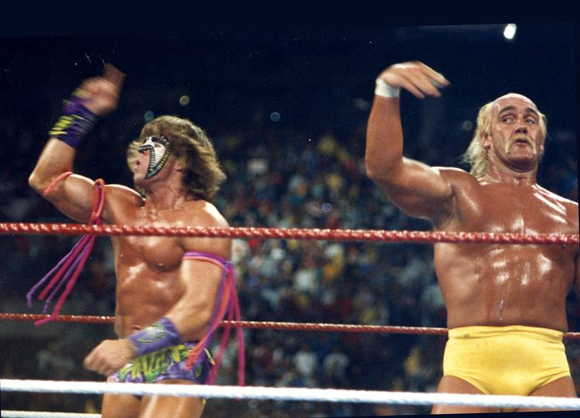James Hellwig. alias The ultimate Warrior (Corbis)