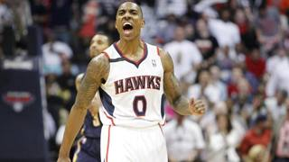 Jeff Teague, decisivo in gara 3 contro i Pacers. Reuters