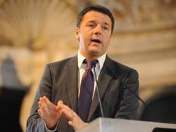 Il presidente del Consiglio dei Ministri, Matteo Renzi. LaPresse