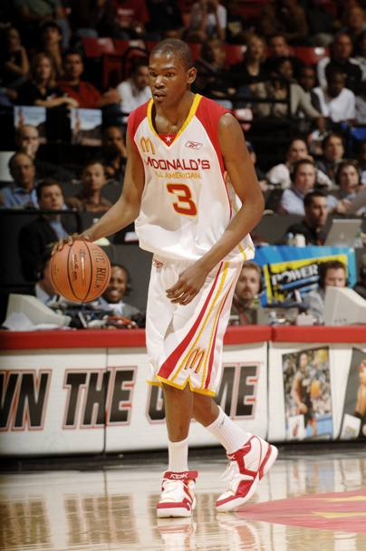Durante il McDonald's All American High School Basketball 2006 di San Diego