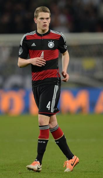 FM 2016 player profile of Matthias Ginter