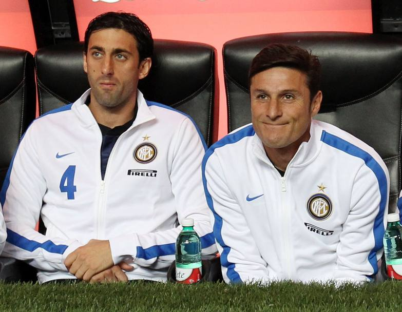 With Palacio suspended, chance for Milito to start versus Chievo