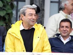 Il presidente del Livorno Aldo Spinelli. Ansa