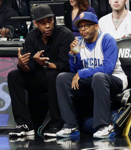 Spike Lee con Denzel Washington: c'� da progettare il nuovo He got game... Epa