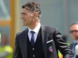 Il tecnico del Catania, Maurizio Pellegrino. Ap