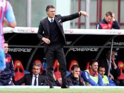Maurizio Pellegrino, allenatore del  Catania. Lapresse