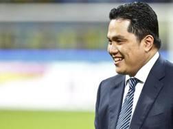 Il presidente dell'Inter, Erick Thohir. LaPresse