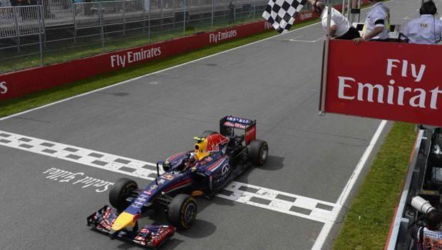 Il trionfo di Daniel Ricciardo. Colombo