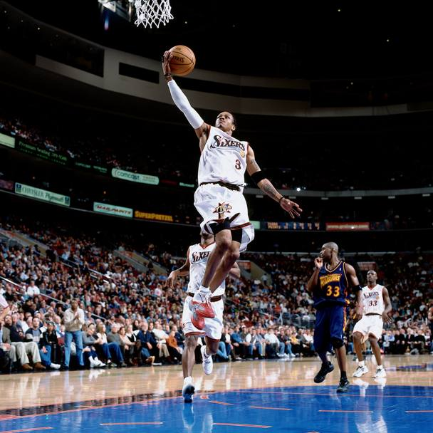 2001, Golden State Warriors vs Philadelphia 76ers (Nba/Getty Images)