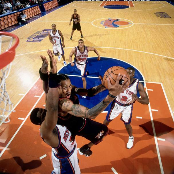 Nel 2000 contro i New York Knicks (Nba/Getty Images)
