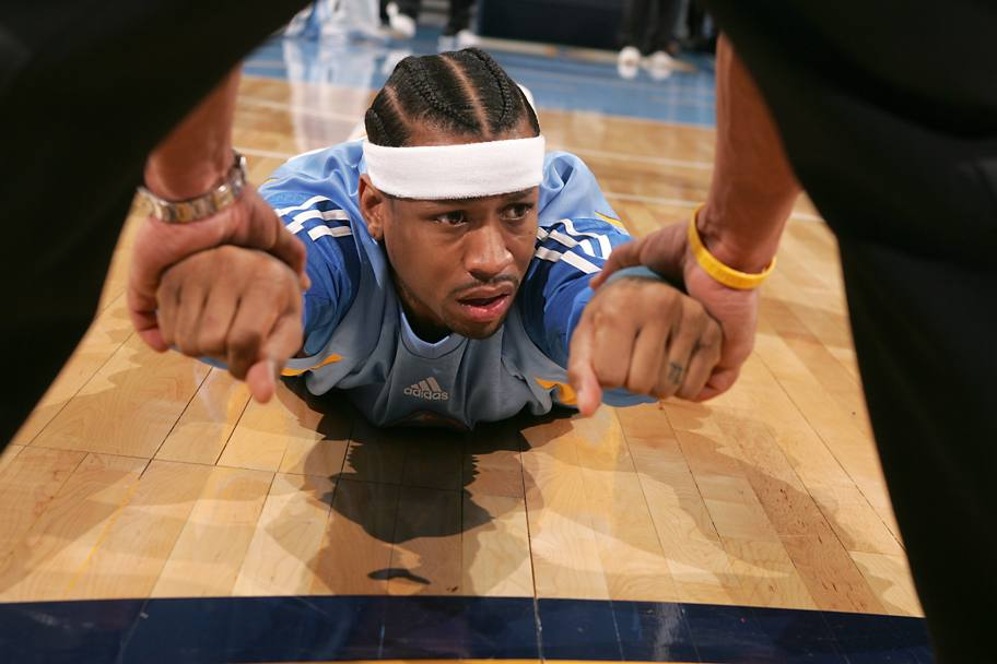Con i Denver Niggets nel 2008 (Nba/Getty Images)
