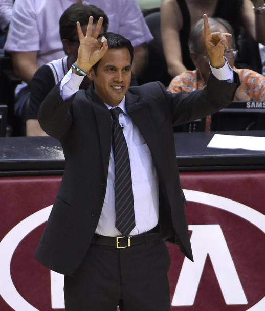 Miami Heat head coach Erik Spoelstra (Epa)