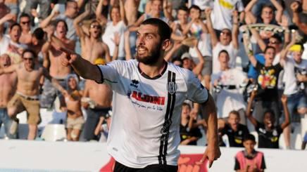 Marilungo esulta, il Cesena vola in finale. LaPresse