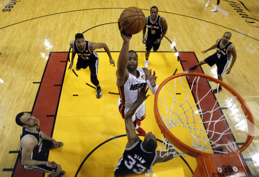 La guardia di Miami Dwyane Wade (Reuters)